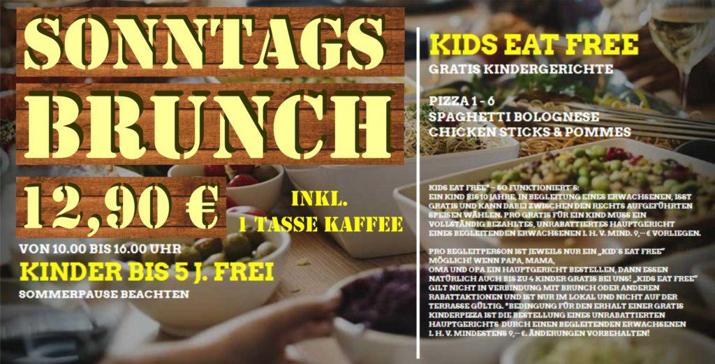 SONNTAG BRUNCHEN in Regensburg – wir starten wieder ab 01.10.2017!