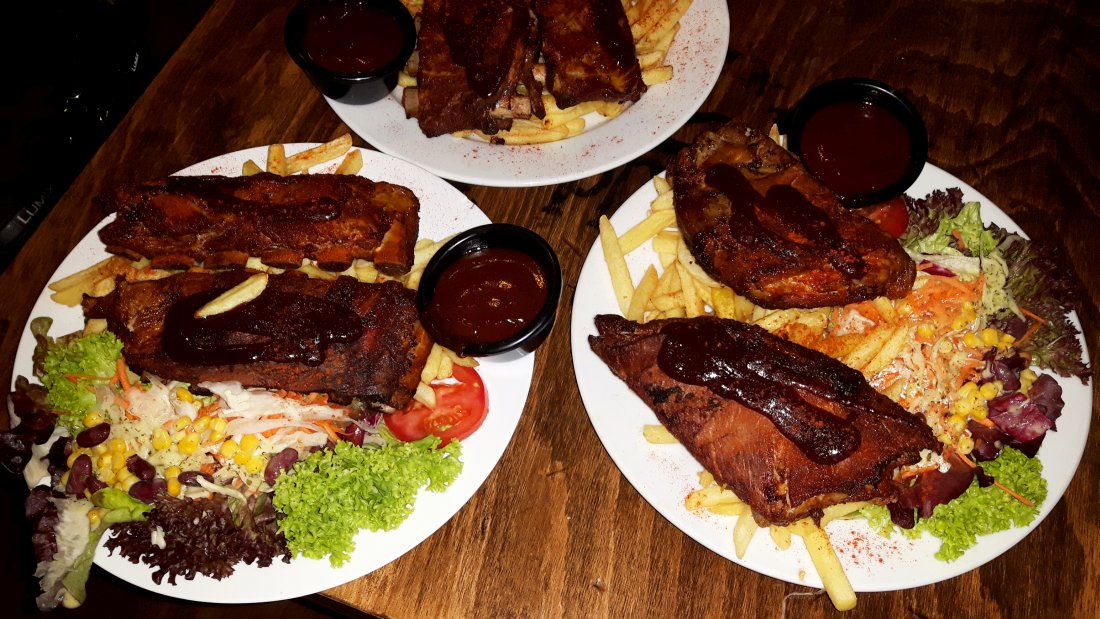 Spare-Ribs essen in Regensburg All you can eat am Mittwoch