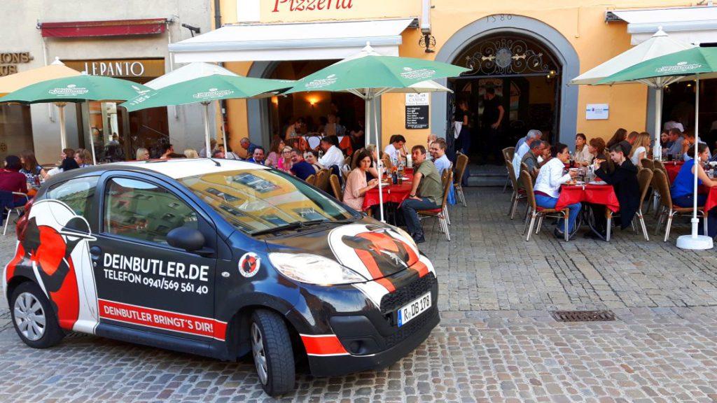 Lieferservice in Regensburg – Bestellungen über Foodora oder Dein Butler